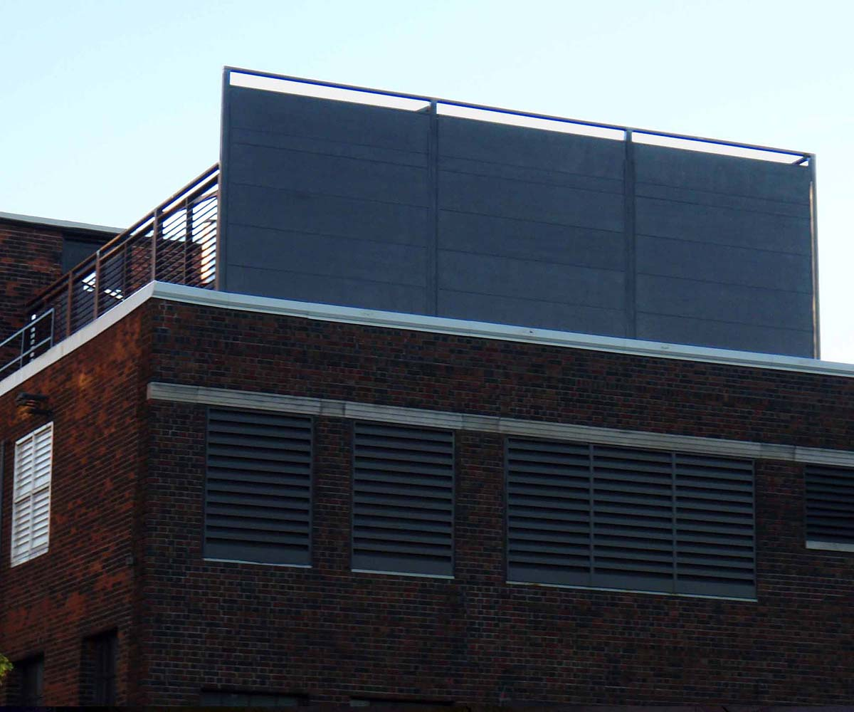 Acoustic Wall Installations - Rooftop