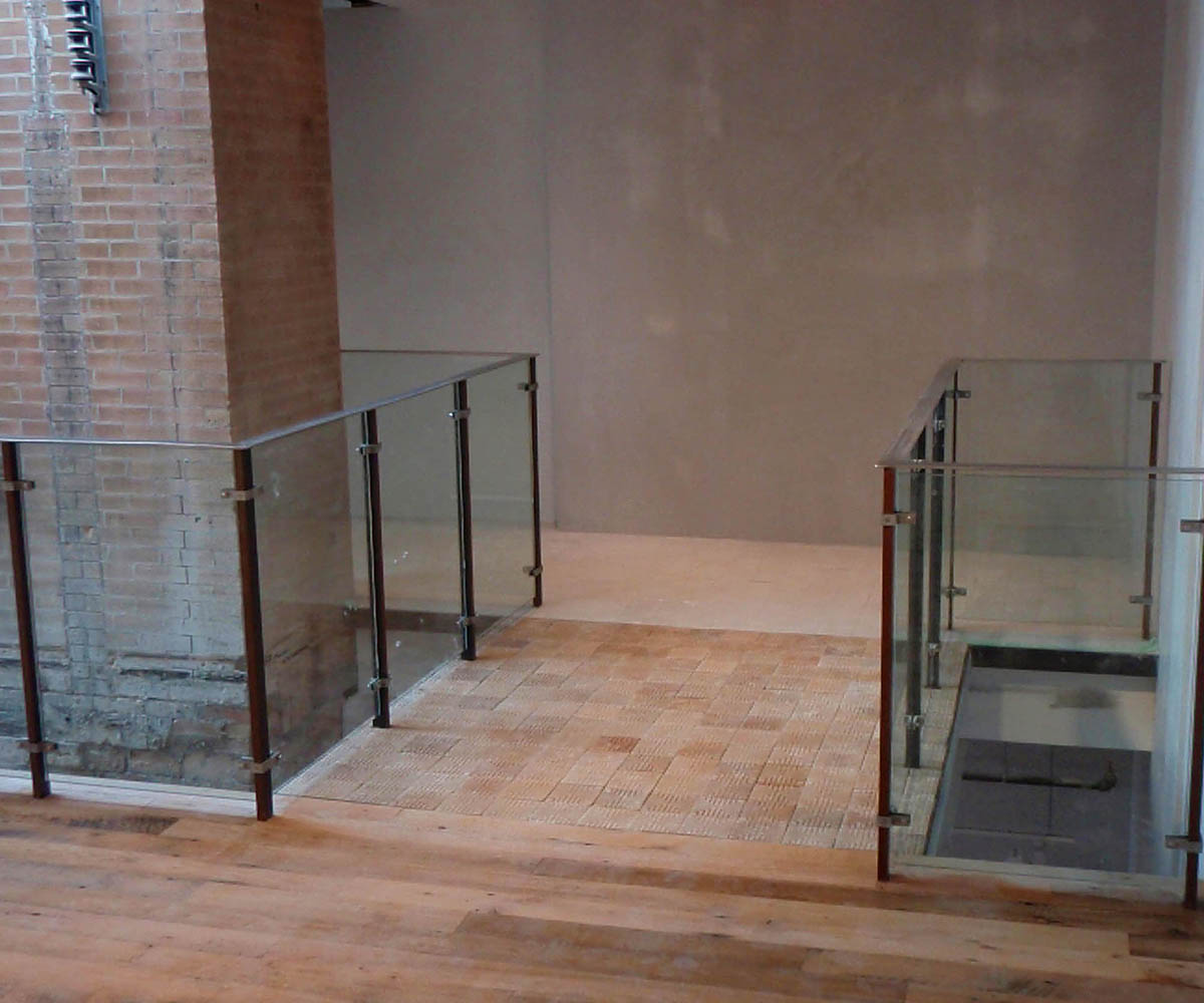 Anthropologie Retail: Custom Handrail Fabrication-Structural Steel