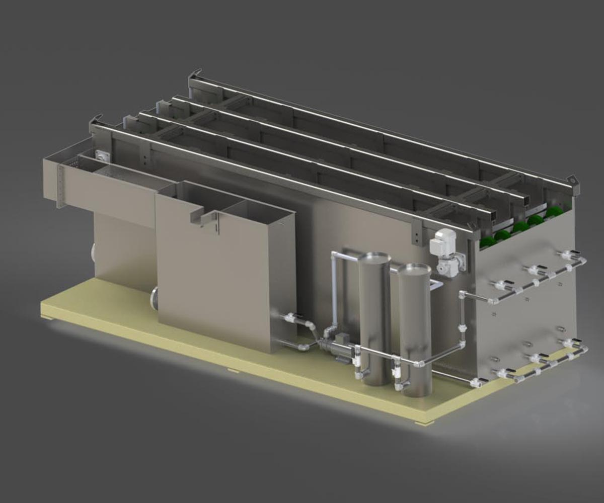 Custom Parts Washer Design