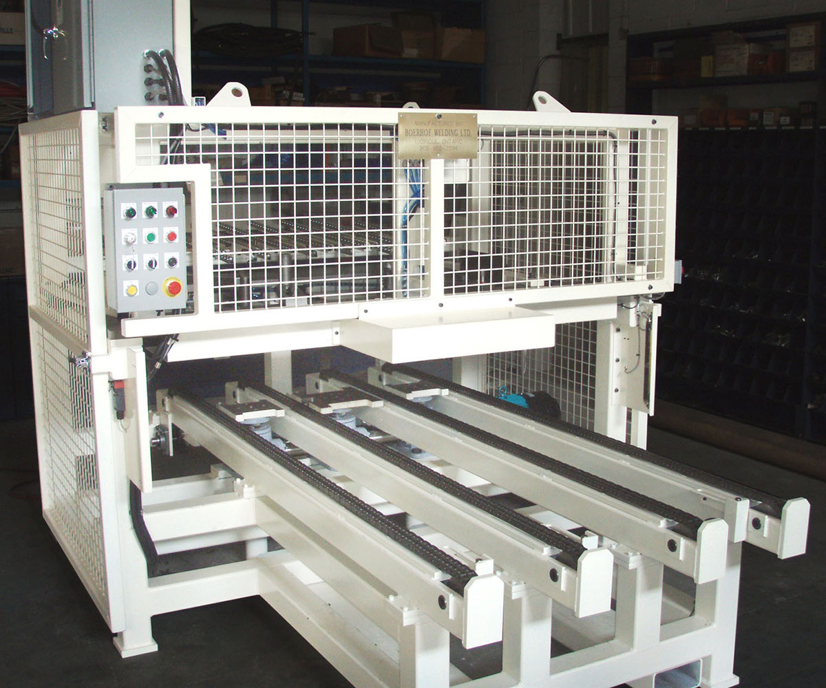 Custom Rack Stacking Machine - Control Panel