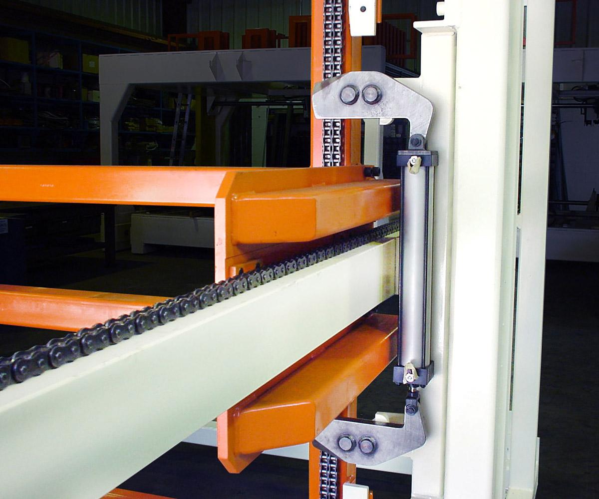 Custom Rack Stacking Machine - Detailed