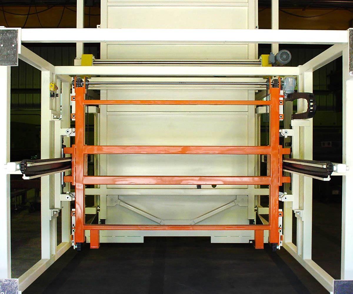 Custom Rack Stacking Machine - Front