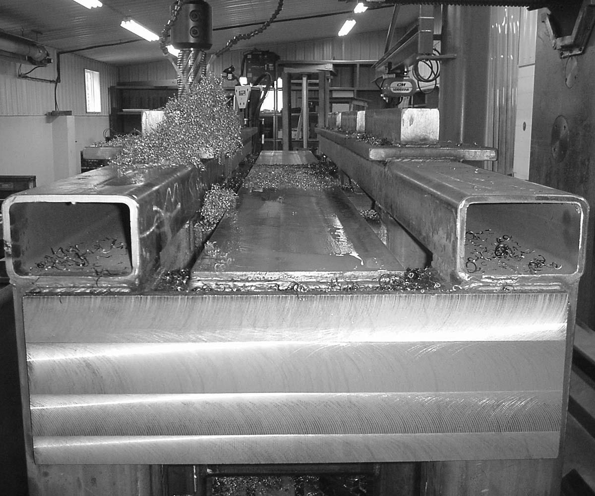 Custom Steel Weldment - Fabrication In Progress