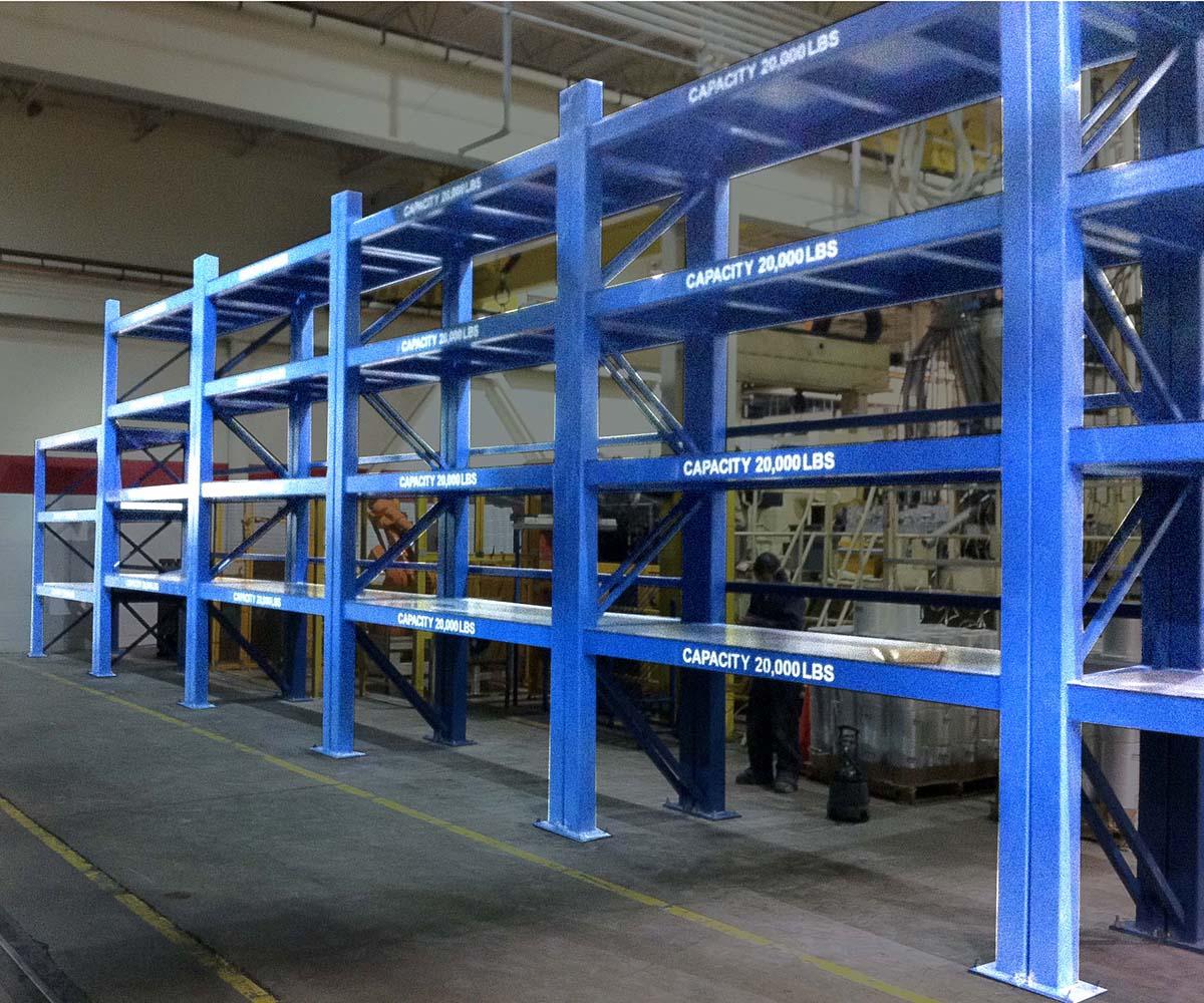 Manufacturing Shelf Design Die Storage Racking