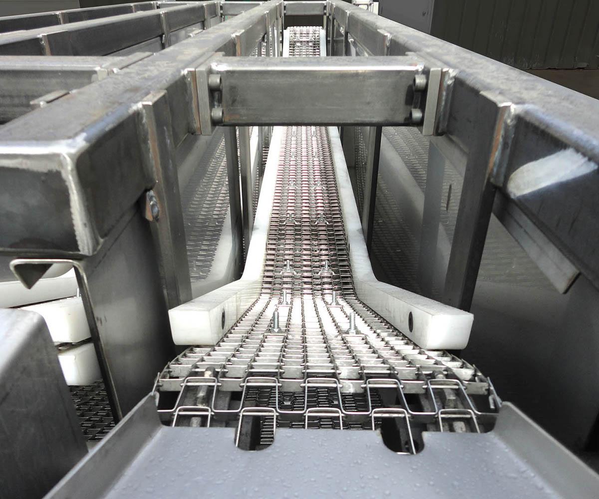 Parts Washer Conveyor Custom Fabrication