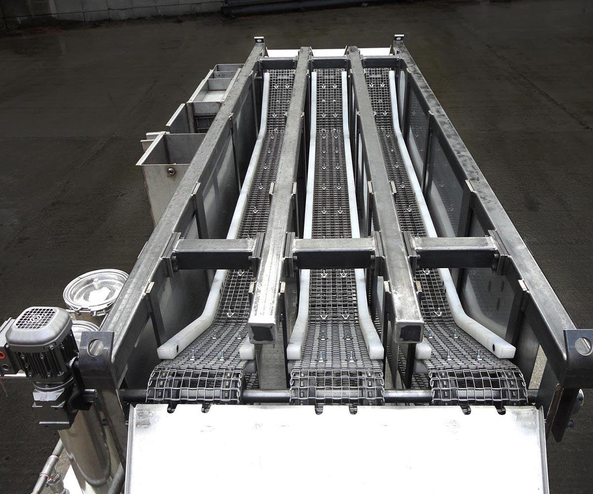 Parts Washer Multiple Conveyor Custom Fabrication