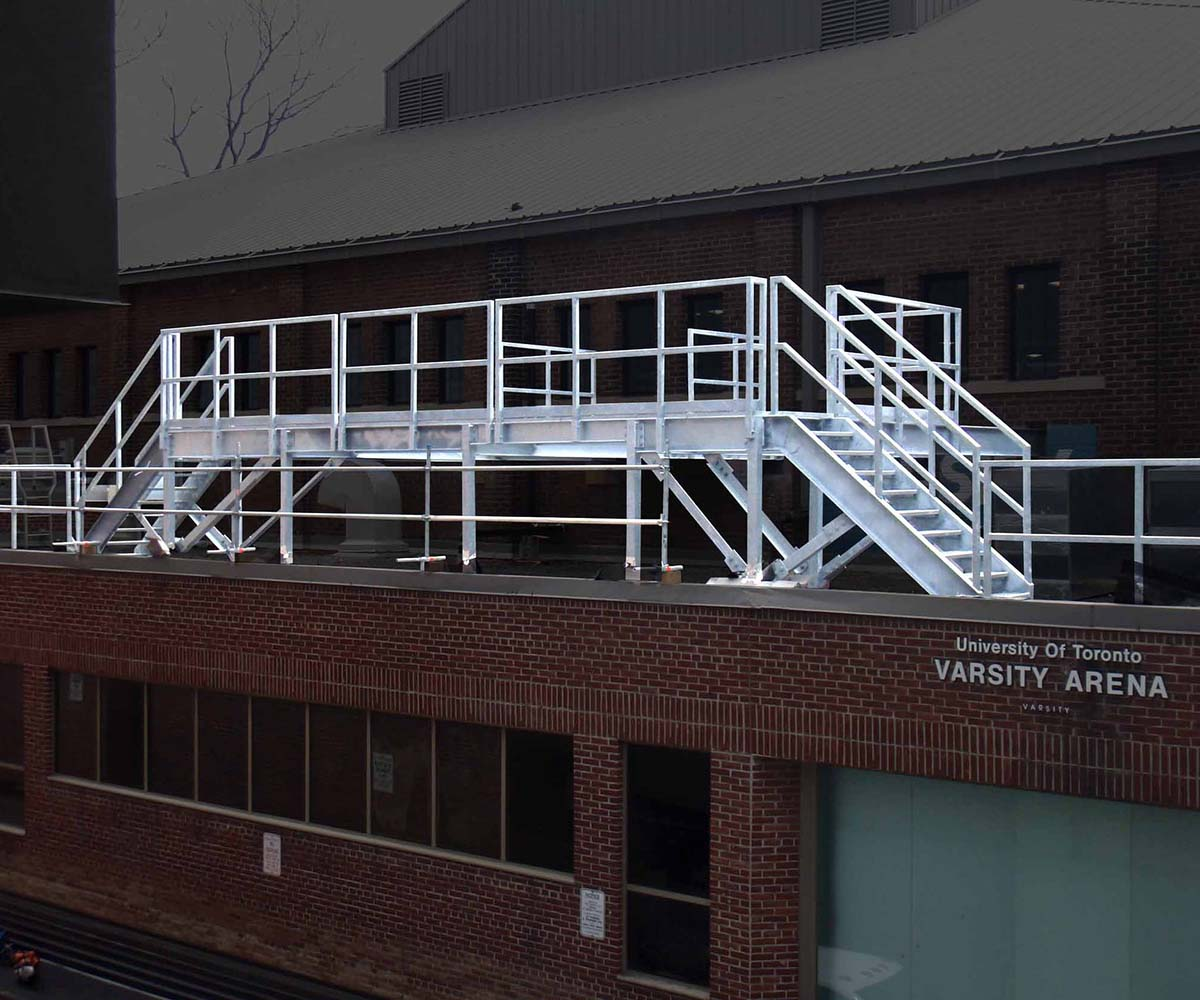 University of Toronto-Structural Steel Rooftop Cooling Unit